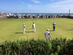 Beautiful day at Lyme Regis Bowls Club
